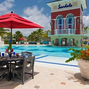 St Lucia Honeymoon Packages Sandals Grande St Lucian Resort Pool 3