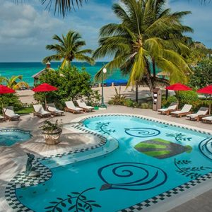 St Lucia Honeymoon Packages Sandals Grande St Lucian Resort Pool 4