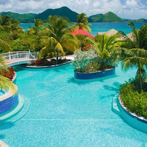 St Lucia Honeymoon Packages Sandals Grande St Lucian Resort Pool 5