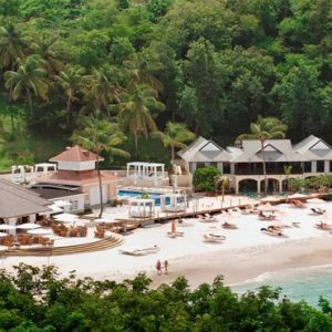 St Lucia Honeymoon Packages The Bodyholiday Saint Lucia Aerial View