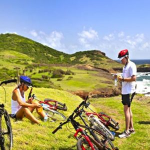 St Lucia Honeymoon Packages The Bodyholiday Saint Lucia Bike Adventure