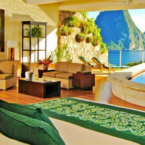 St Lucia Honeymoon Packages Jade Mountain Star Sanctuary