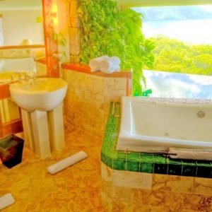 St Lucia Honeymoon Packages Jade Mountain Bath With A View1
