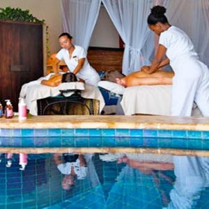 St Lucia Honeymoon Packages Jade Mountain Couple Spa Massage