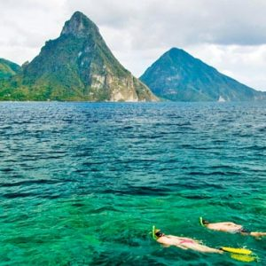 St Lucia Honeymoon Packages Jade Mountain Snorkelling