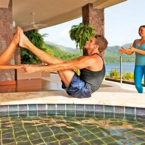 St Lucia Honeymoon Packages Jade Mountain Yoga