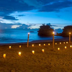 St Lucia Honeymoon Packages Jade Mountain Private Beach Dining
