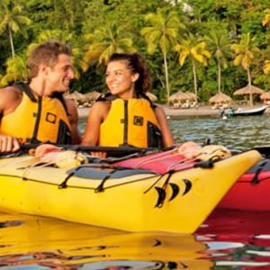 St Lucia Honeymoon Packages Jade Mountain Watersports