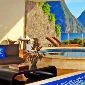 St Lucia Honeymoon Packages Jade Mountain Moon Sanctuary