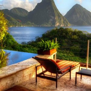 St Lucia Honeymoon Packages Jade Mountain Moon Sanctuary 2