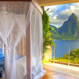 St Lucia Honeymoon Packages Jade Mountain Moon Sanctuary 3