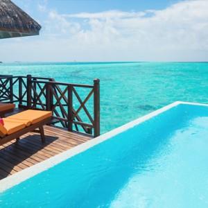 Sun Aqua Vilu Reef - Luxury Maldives honeymoon packages - Aqua Suite exterior deck