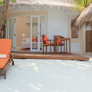 Sun Aqua Vilu Reef - Luxury Maldives honeymoon packages - Deluxe Beach villas exterior