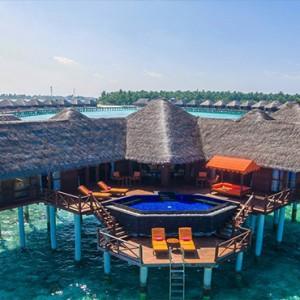 Sun Aqua Vilu Reef - Luxury Maldives honeymoon packages - Grand Reef Suite