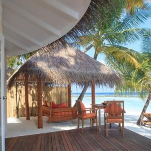 Sun Aqua Vilu Reef - Luxury Maldives honeymoon packages - Jacuzzi Deluxe Beach villas exterior view