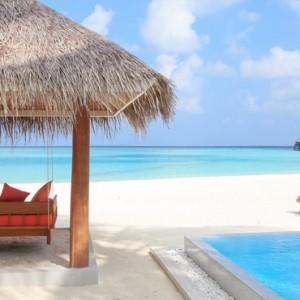 Sun Aqua Vilu Reef - Luxury Maldives honeymoon packages - Sun Aqua Pool Villa exterior view