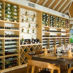 Sun Aqua Vilu Reef - Luxury Maldives honeymoon packages - The wine cellar