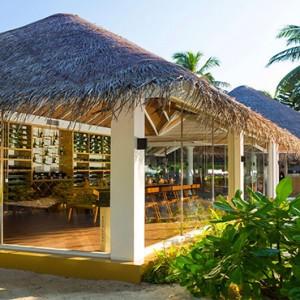 Sun Aqua Vilu Reef - Luxury Maldives honeymoon packages - Wine cellar exterior