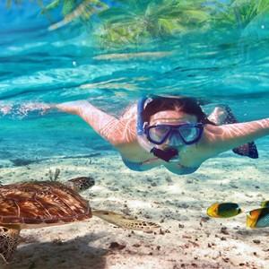 Sun Aqua Vilu Reef - Luxury Maldives honeymoon packages - snorkeling