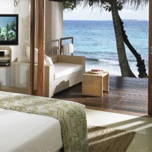 Superior Charm Beach Villa - Vivanta By Taj - Coral Reef - Luxury Maldives Honeymoon Packages
