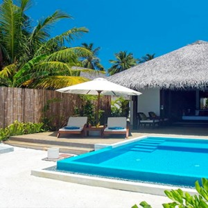Velassaru Maldives - Luxury Maldives Honeymoon Packages - Beach Villa with pool view