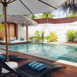 Velassaru Maldives - Luxury Maldives Honeymoon Packages - Pool Villa exterior1
