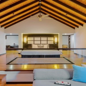 Velassaru Maldives - Luxury Maldives Honeymoon Packages - Pool Villa interior