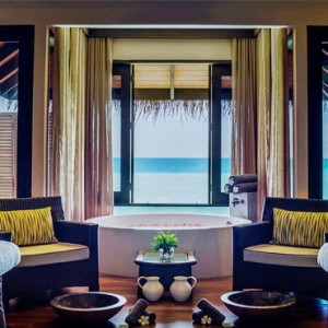 Velassaru Maldives - Luxury Maldives Honeymoon Packages - Spa treatment room