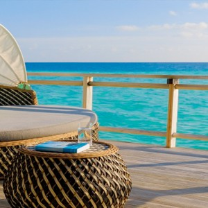 Velassaru Maldives - Luxury Maldives Honeymoon Packages - Water Villa deck