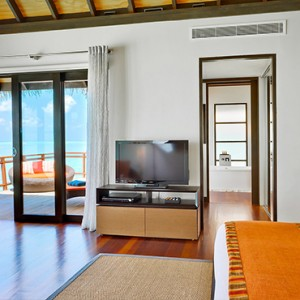 Velassaru Maldives - Luxury Maldives Honeymoon Packages - Water Villa lagoon view