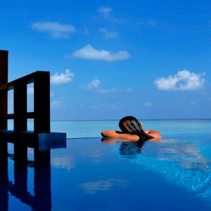 Velassaru Maldives - Luxury Maldives Honeymoon Packages - Water Villa with pool exterior pool