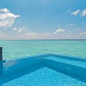 Velassaru Maldives - Luxury Maldives Honeymoon Packages - Water Villa with pool view