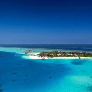Velassaru Maldives - Luxury Maldives Honeymoon Packages - aerial view