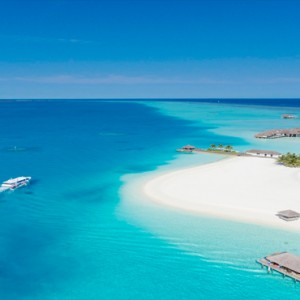 Velassaru Maldives - Luxury Maldives Honeymoon Packages - aerial view of resort