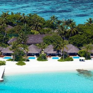 Velassaru Maldives - Luxury Maldives Honeymoon Packages - beach villas view