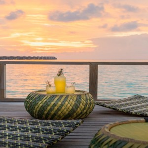 Velassaru Maldives - Luxury Maldives Honeymoon Packages - sunset view