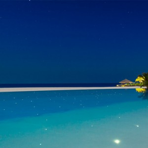 Velassaru Maldives - Luxury Maldives Honeymoon Packages - view at night
