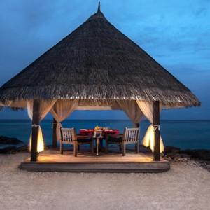 Vivanta By Taj - Coral Reef - Luxury Maldives Honeymoon Packages - Private dining