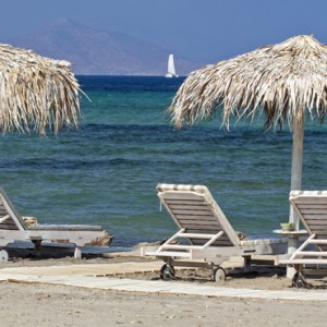 beach 2 - Aqua Boutique Hotel and Spa - Luxury Greece Honeymoon Packages