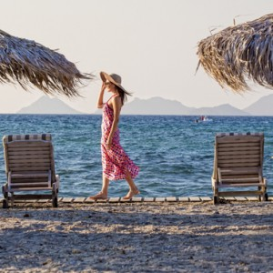 beach - Aqua Boutique Hotel and Spa - Luxury Greece Honeymoon Packages