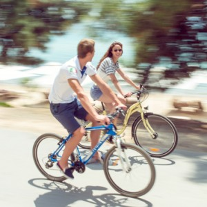 bikes - Ikos Oceania Halkidiki - Luxury Greece Holiday Packages