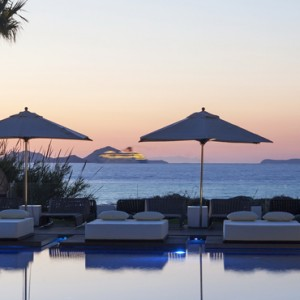 sunset 2 - Aqua Boutique Hotel and Spa - Luxury Greece Honeymoon Packages