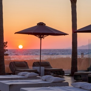 sunset - Aqua Boutique Hotel and Spa - Luxury Greece Honeymoon Packages