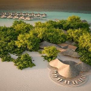 Drift Thelu Velga Retreat - Luxury Maldives Honeymoon packages - Aerial view