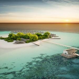 Drift Thelu Velga Retreat - Luxury Maldives Honeymoon packages - Aerial view1