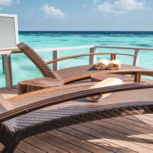 Drift Thelu Velga Retreat - Luxury Maldives Honeymoon packages - Water Villa sun deck