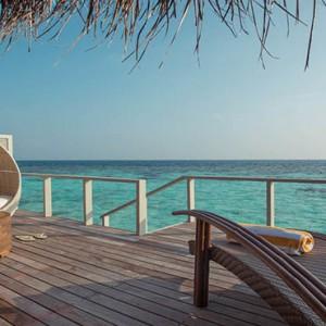 Drift Thelu Velga Retreat - Luxury Maldives Honeymoon packages - Water Villa sun deck1