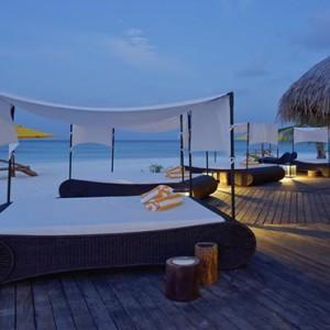 Drift Thelu Velga Retreat - Luxury Maldives Honeymoon packages - sun loungers