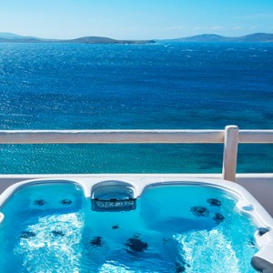 EXECUTIVE SEA VIEW SUITE 4 - Mykonos Grand Hotel and Resort - luxury Greece honeymoon Packages