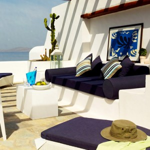 EXECUTIVE SEA VIEW SUITE 7 - Mykonos Grand Hotel and Resort - luxury Greece honeymoon Packages
